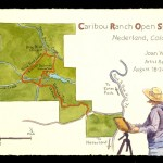 Caribou Ranch Open Space Sketchbook, cover