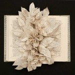 Glory of the Snow. altered book