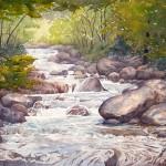 North Boulder Creek, watercolor