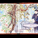 Plein Air Sketchbook, Dushanbe Tea House