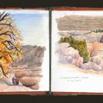 Plein Air Sketchbook, Boulder Valley Ranch and Matthews/Winters Park