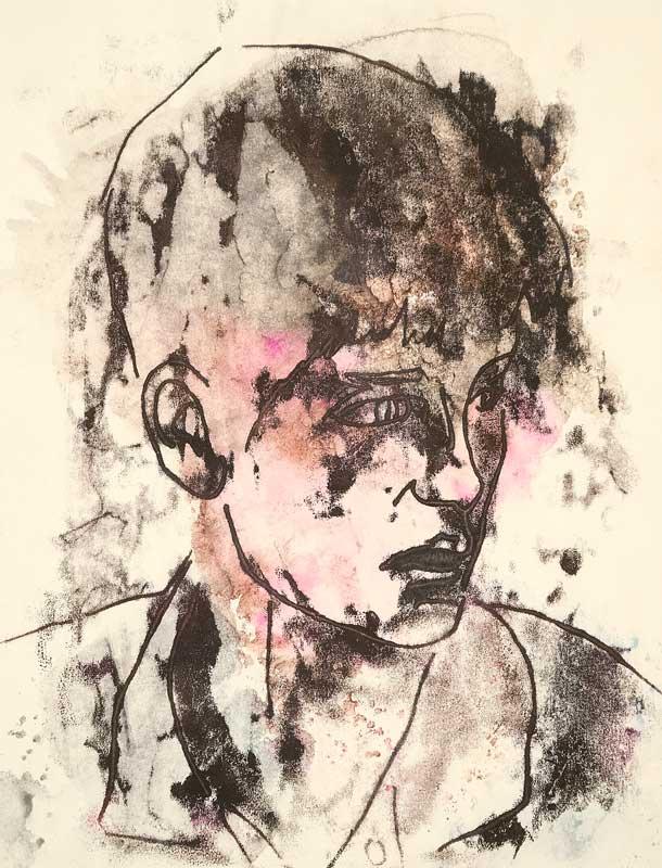 Reilly: Portrait I, monotype