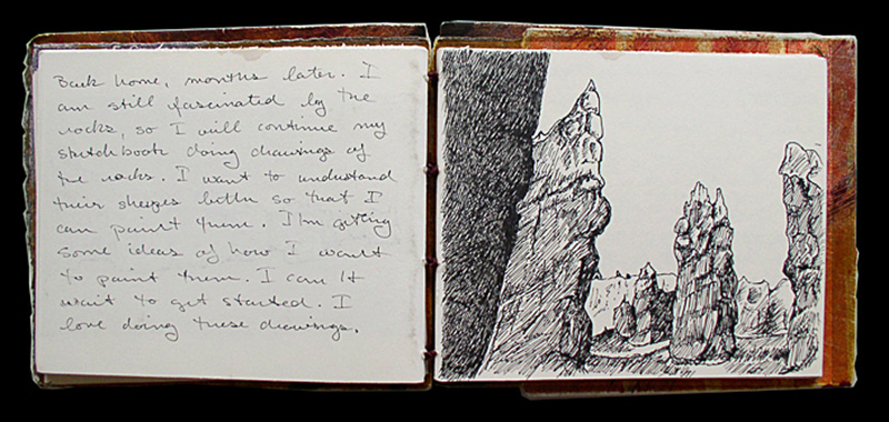 Utah Travel Sketchbook